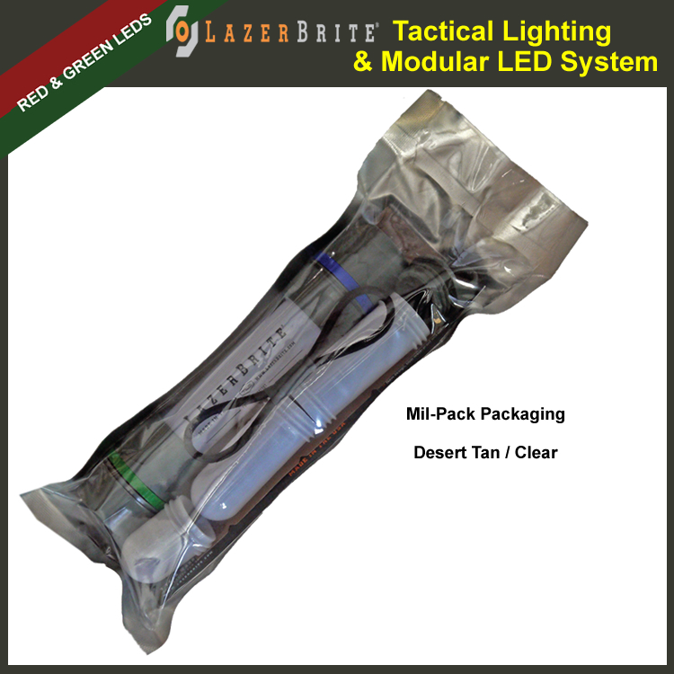 LazerBrite® Tactical Light System - Red & Green (LB2-105-LHF ...