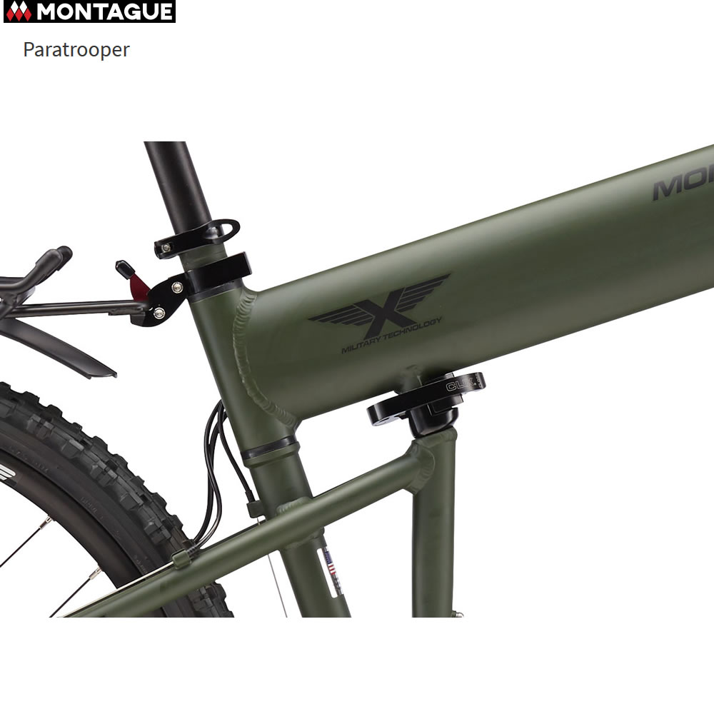 abbc19dbfae Paratrooper Folding Mountain Bike by Montague (PARATROOPER-BIKE ...