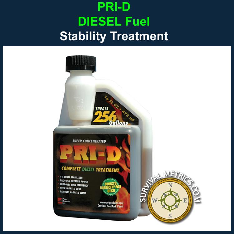 Pri D Diesel Fuel Long Term Storage Stabilizer 16 Oz