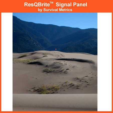 Survival Metrics Survival New Small ResQBrite Signal Panel RESQ-S